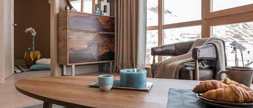 Hotel Le Taos - Living room